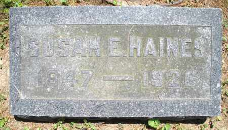 HAINES, SUSAN E. - Warren County, Ohio   SUSAN E. HAINES - Ohio Gravestone Photos