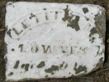 LOWNES, LETITIA - Warren County, Ohio   LETITIA LOWNES - Ohio Gravestone Photos