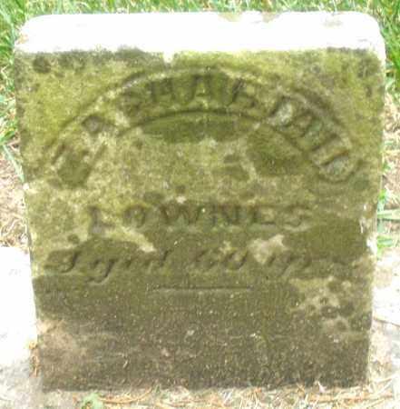 LOWNES, ZACHARIAH - Warren County, Ohio   ZACHARIAH LOWNES - Ohio Gravestone Photos