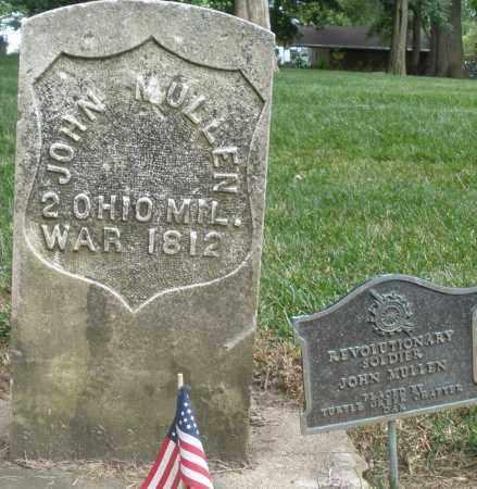 MULLEN, JOHN - Warren County, Ohio   JOHN MULLEN - Ohio Gravestone Photos