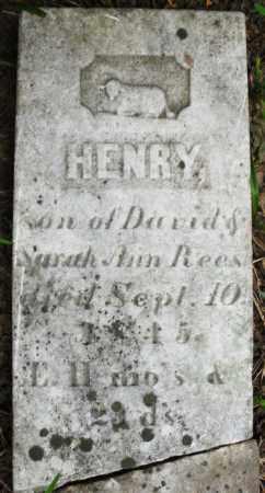 REES, HENRY - Warren County, Ohio   HENRY REES - Ohio Gravestone Photos