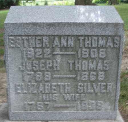 THOMAS, ELIZABETH - Warren County, Ohio | ELIZABETH THOMAS - Ohio Gravestone Photos