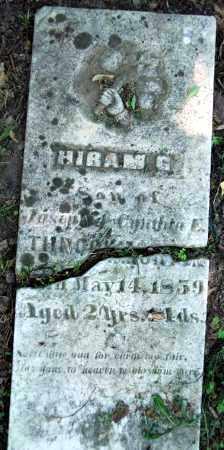 THROCKMORTON, HIRAM G. - Warren County, Ohio   HIRAM G. THROCKMORTON - Ohio Gravestone Photos