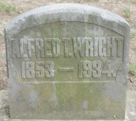 WRIGHT, ALFRED T. - Warren County, Ohio | ALFRED T. WRIGHT - Ohio Gravestone Photos