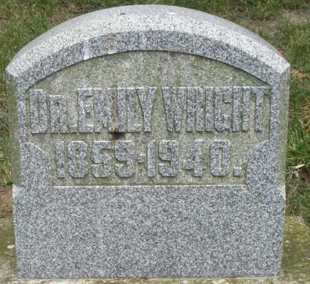 WRIGHT, EMILY DR. - Warren County, Ohio | EMILY DR. WRIGHT - Ohio Gravestone Photos