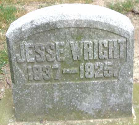 WRIGHT, JESSE - Warren County, Ohio | JESSE WRIGHT - Ohio Gravestone Photos