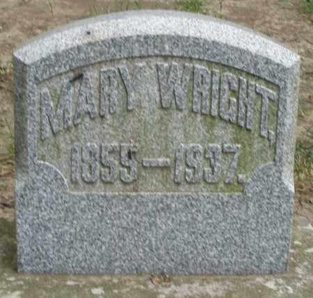 WRIGHT, MARY - Warren County, Ohio | MARY WRIGHT - Ohio Gravestone Photos
