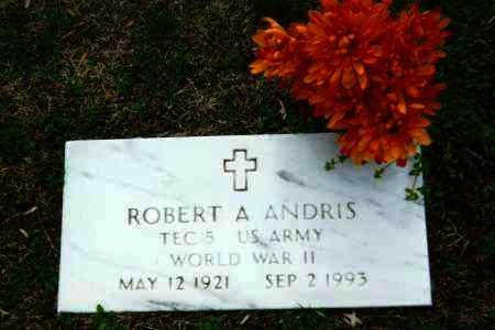 ANDRIS, ROBERT - Washington County, Ohio   ROBERT ANDRIS - Ohio Gravestone Photos