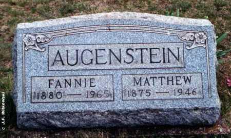 AUGENSTEIN, MATTHEW GOTTLIEB - Washington County, Ohio | MATTHEW GOTTLIEB AUGENSTEIN - Ohio Gravestone Photos