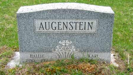 AUGENSTEIN, HALLIE - Washington County, Ohio   HALLIE AUGENSTEIN - Ohio Gravestone Photos