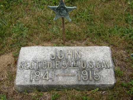 AUGENSTEIN, JOHN - Washington County, Ohio | JOHN AUGENSTEIN - Ohio Gravestone Photos