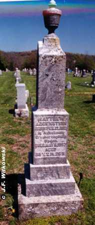 AUGENSTEIN, MATTHEW AUGUST SR. - Washington County, Ohio   MATTHEW AUGUST SR. AUGENSTEIN - Ohio Gravestone Photos