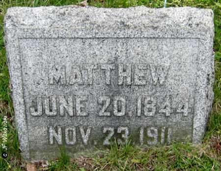 AUGENSTEIN, MATTHEW AUGUST JR. - Washington County, Ohio   MATTHEW AUGUST JR. AUGENSTEIN - Ohio Gravestone Photos