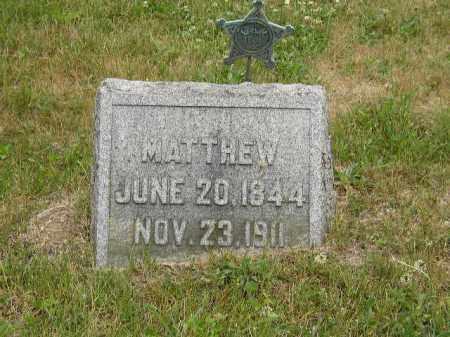 AUGENSTEIN, MATTHEW - Washington County, Ohio | MATTHEW AUGENSTEIN - Ohio Gravestone Photos