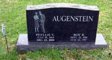 AUGENSTEIN, ROY R. - Washington County, Ohio | ROY R. AUGENSTEIN - Ohio Gravestone Photos