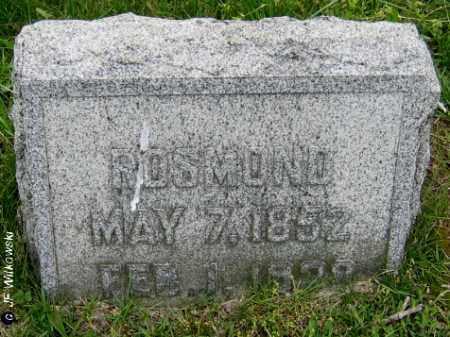 AUGENSTEIN, ROSMOND A. - Washington County, Ohio   ROSMOND A. AUGENSTEIN - Ohio Gravestone Photos