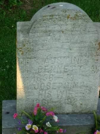 BENNETT, AUSTIN - Washington County, Ohio | AUSTIN BENNETT - Ohio Gravestone Photos