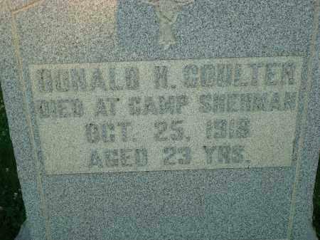 COULTER, DONALD H. - Washington County, Ohio | DONALD H. COULTER - Ohio Gravestone Photos