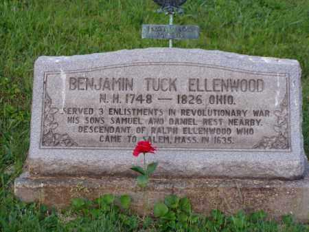 ELLENWOOD, BENJAMIN TUCK - Washington County, Ohio | BENJAMIN TUCK ELLENWOOD - Ohio Gravestone Photos