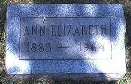 HAYES, ANN ELIZABETH - Washington County, Ohio | ANN ELIZABETH HAYES - Ohio Gravestone Photos