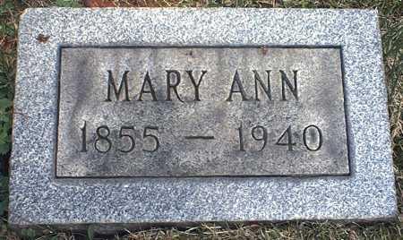 HAYES, MARY ANN - Washington County, Ohio | MARY ANN HAYES - Ohio Gravestone Photos