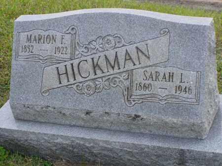HICKMAN, MARION F. - Washington County, Ohio | MARION F. HICKMAN - Ohio Gravestone Photos