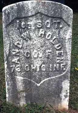HOLDEN, ANDREW - Washington County, Ohio | ANDREW HOLDEN - Ohio Gravestone Photos