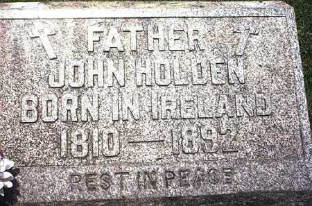 HOLDEN, JOHN EDWIN - Washington County, Ohio | JOHN EDWIN HOLDEN - Ohio Gravestone Photos