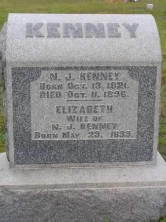 KENNEY, ELIZABETH - Washington County, Ohio | ELIZABETH KENNEY - Ohio Gravestone Photos