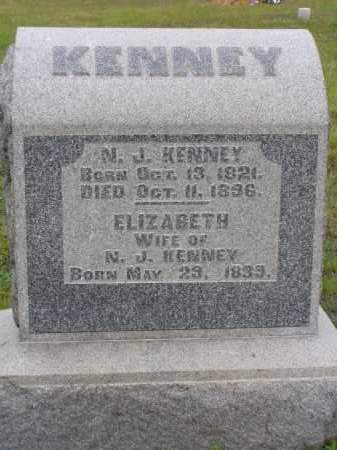 KENNEY, N. J. - Washington County, Ohio | N. J. KENNEY - Ohio Gravestone Photos
