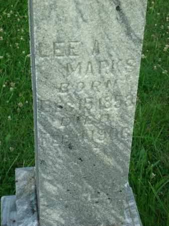 MARKS, LEE A. - Washington County, Ohio | LEE A. MARKS - Ohio Gravestone Photos