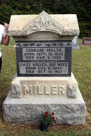 MILLER, CONRADE - Washington County, Ohio | CONRADE MILLER - Ohio Gravestone Photos