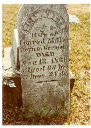 MILLER, ELIZABETH - Washington County, Ohio   ELIZABETH MILLER - Ohio Gravestone Photos