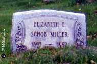 MILLER, ELIZABETH E. - Washington County, Ohio | ELIZABETH E. MILLER - Ohio Gravestone Photos