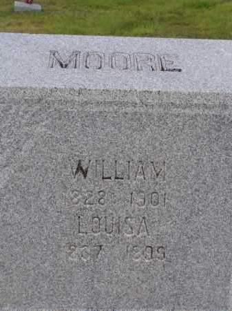 MOORE, LOUISA - Washington County, Ohio | LOUISA MOORE - Ohio Gravestone Photos