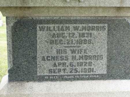 MORRIS, WILLIAM W. - Washington County, Ohio | WILLIAM W. MORRIS - Ohio Gravestone Photos