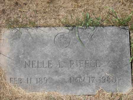 RIFFLE, NELLE L. - Washington County, Ohio | NELLE L. RIFFLE - Ohio Gravestone Photos