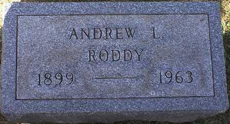 RODDY, ANDREW LEO - Washington County, Ohio   ANDREW LEO RODDY - Ohio Gravestone Photos