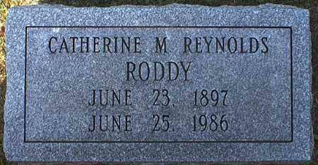 REYNOLDS RODDY, CATHERINE MARY - Washington County, Ohio | CATHERINE MARY REYNOLDS RODDY - Ohio Gravestone Photos