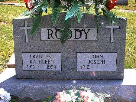 RODDY, JOHN JOSEPH - Washington County, Ohio   JOHN JOSEPH RODDY - Ohio Gravestone Photos