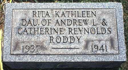 RODDY, RITA KATHLEEN - Washington County, Ohio | RITA KATHLEEN RODDY - Ohio Gravestone Photos
