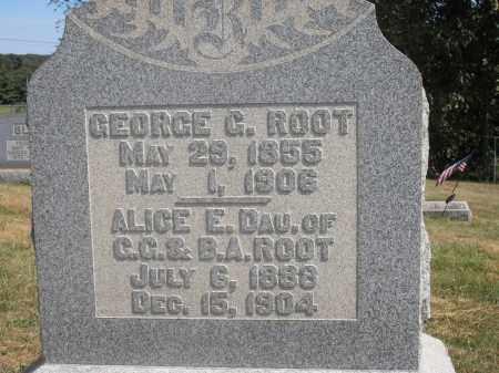 ROOT, GEORGE G. - Washington County, Ohio | GEORGE G. ROOT - Ohio Gravestone Photos