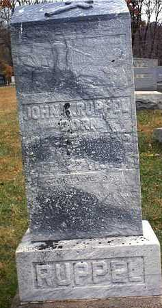 RUPPEL, JOHN KONRAD - Washington County, Ohio   JOHN KONRAD RUPPEL - Ohio Gravestone Photos