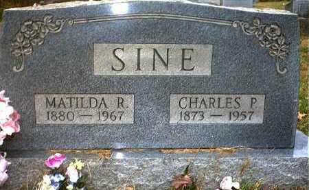 SINE, CHARLES PERRY - Washington County, Ohio | CHARLES PERRY SINE - Ohio Gravestone Photos