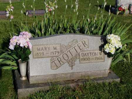 TROTTER, DAYTON W. - Washington County, Ohio | DAYTON W. TROTTER - Ohio Gravestone Photos