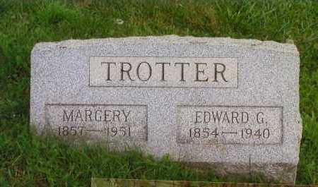 TROTTER, EDWARD GARD - Washington County, Ohio | EDWARD GARD TROTTER - Ohio Gravestone Photos