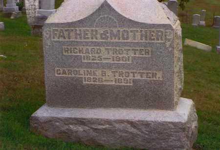 DUNSMOOR TROTTER, CAROLINE B. - Washington County, Ohio   CAROLINE B. DUNSMOOR TROTTER - Ohio Gravestone Photos