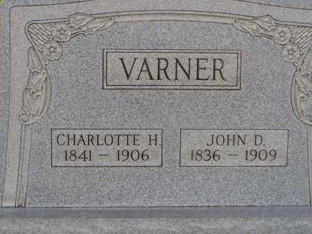 VARNER, JOHN D. - Washington County, Ohio | JOHN D. VARNER - Ohio Gravestone Photos