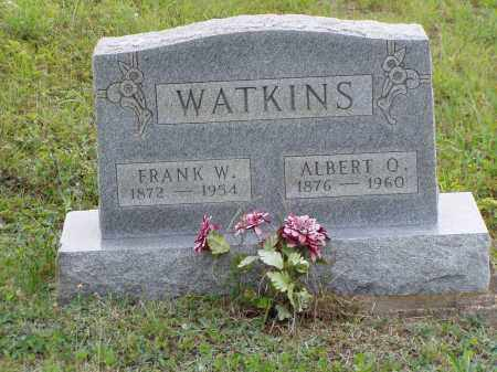 WATKINS, ALBERT O. - Washington County, Ohio | ALBERT O. WATKINS - Ohio Gravestone Photos