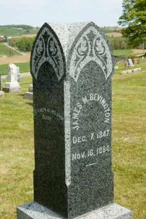 BEVINGTON, JAMES M. - Wayne County, Ohio   JAMES M. BEVINGTON - Ohio Gravestone Photos